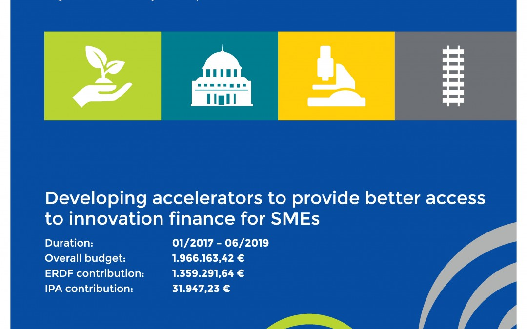 Developing accelerators to provide better access to innovation finance for SMEs