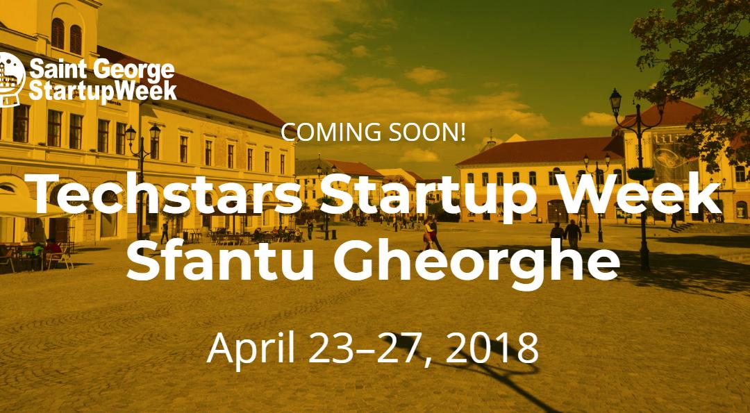 Techstars Startup Week Sfantu Gheorghe
