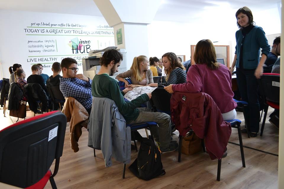 Eveniment dedicat studenților şi tinerilor antreprenori, la InnoHub